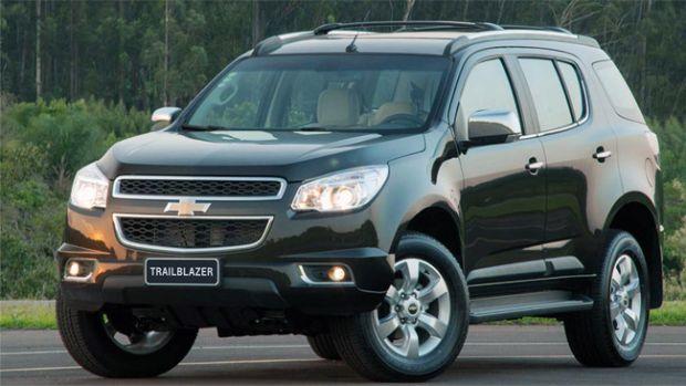 A Chevrolet Trailblazer