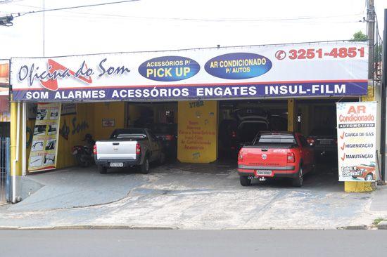 Loja Oficina de Som, em Campinas