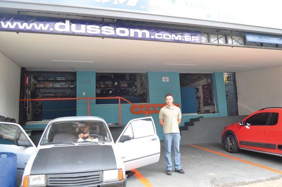 Fachada da loja Dussom em Campinas.