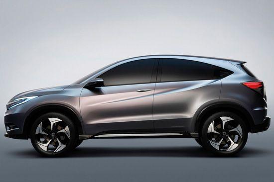 Perfil do Honda Urban SUV Concept 2013