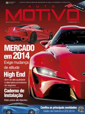 Capa da Edição 77 da Revista Automotivo