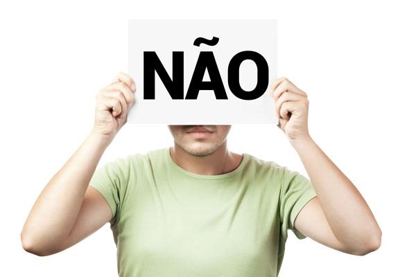 """A importância de saber dizer """"NÃO"""""""