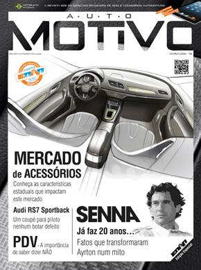 Capa da Edição 78 da Revista Automotivo