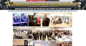 Aconteceu em São Paulo a 5ª edição do Fórum da Indústria Automobilística