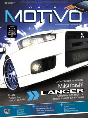 Capa da edição 81 da Revista AutoMOTIVO