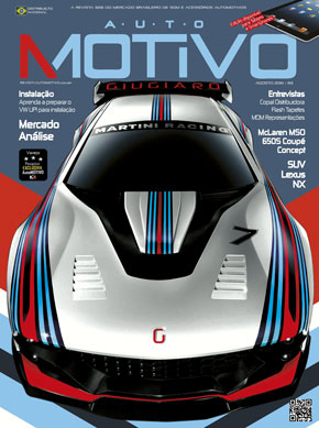 Capa da edição 83 da Revista AutoMOTIVO