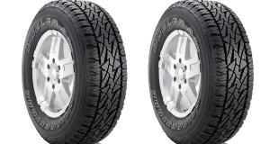 Bridgestone lança novo pneu para o mercado de Suvs e caminhonetes