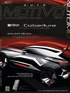 Edição nº 85, de Outubro de 2014, da revista AutoMOTIVO