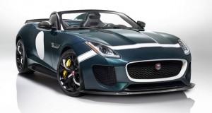 Conheça a esportividade retrô do Jaguar F-TYPE Project 7