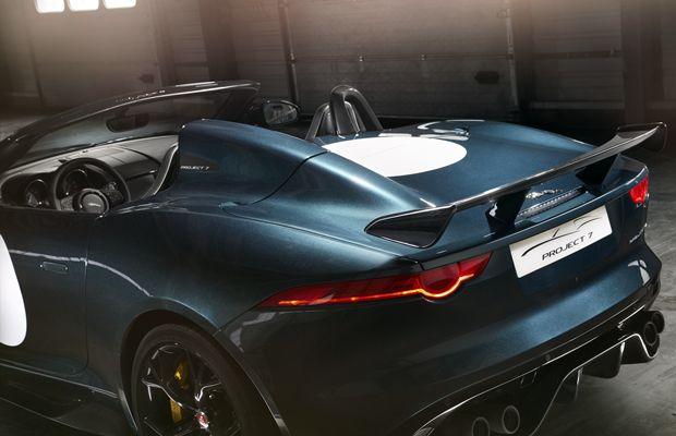 Visto de qualquer ângulo, o  Jaguar F-Type Project 7 chama a atenção