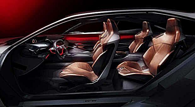O projeto do SUV Peugeot Quartz prevê acomodação confortável para quatro passageiros