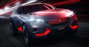 Peugeot Quartz Concept mostra a força da nova geração de SUVs