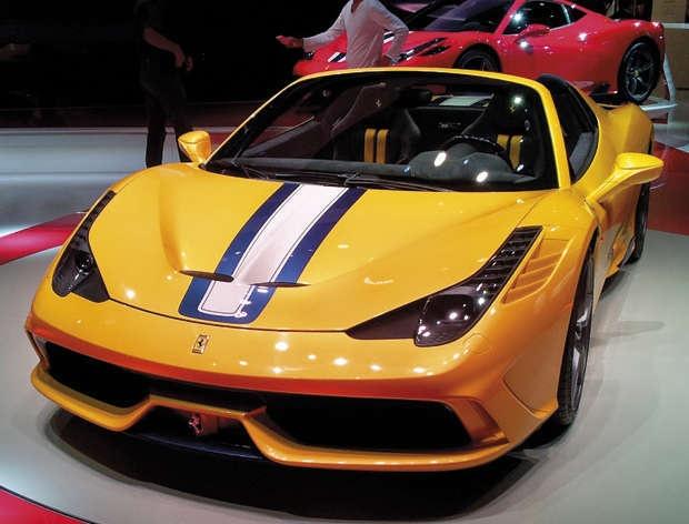 A Ferrari 458 Speciale conversível