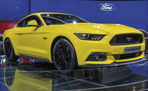 O Ford Mustang 2015