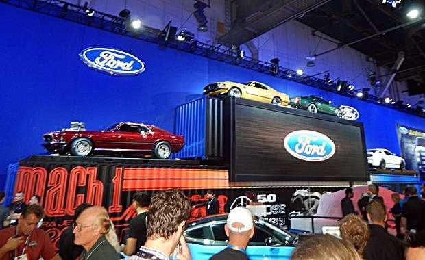 Mustang no SEMA Show 2014 - foto equipe AutoMOTIVO