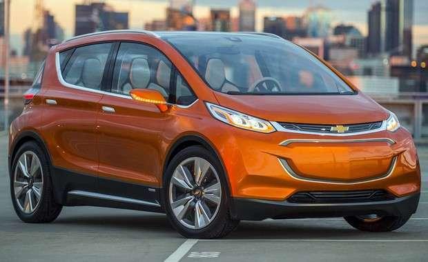 O concept elétrico Chevrolet Bolt EV 2015