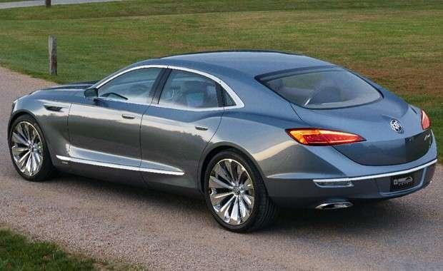 O Buick Avenir, concept apresentado no Salão de Detroit