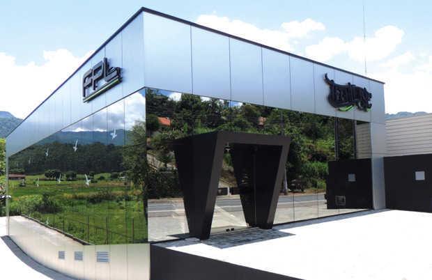 Sede da Technoise, empresa especializada em som automotivo, parte do Grupo FPL,