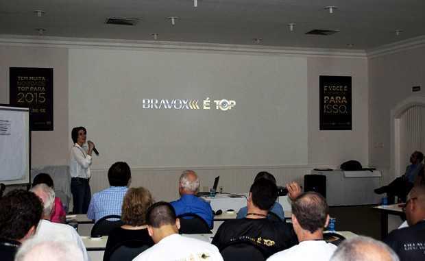 Convenção de vendas da Bravox alto-falantes