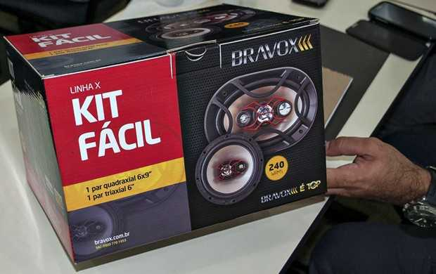 Kot Fácil de alto-falantes da Bravox