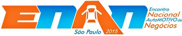 logomarca do ENAN 2015v - Encontro Nacional AutoMOTIVO de Negócios, dedicado ao mercado de som e acessórios automotivos