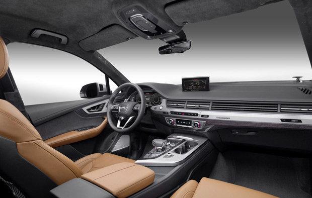 Interior do novo Audi Q 7