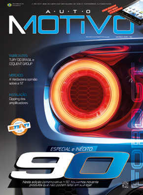 Capa da edição de Março de 2015 da revista AutoMOTIVO, especializada em som e acessórios automotivos
