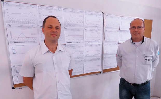 Daniel Tury e Ari Pavezi, da Tury Acessórios, fabricante de acessórios automotivos