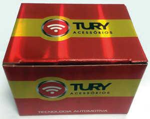 Nova embalagem dos produtos da Tury Acessórios, fabricante de acessórios automotivos