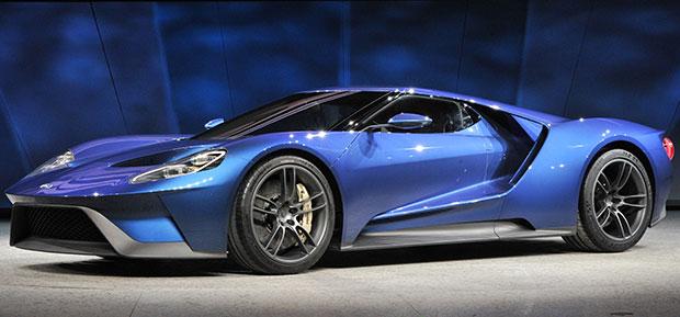 Ford GT no Salão de Detroit