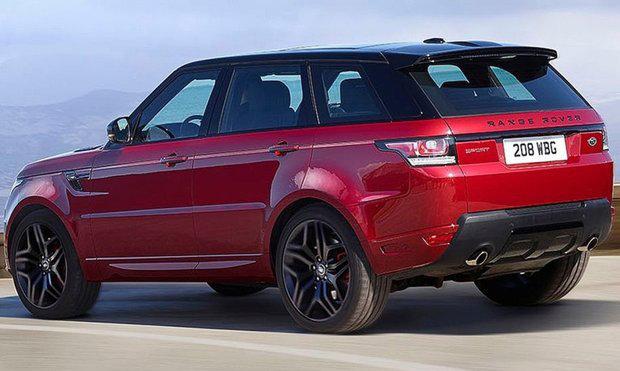 SUV Range Rover Sport HST, lançamento mundial no Salão de Nova Iorque 2015