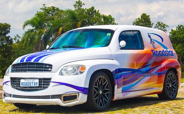 Show car da Roadstar vista externa
