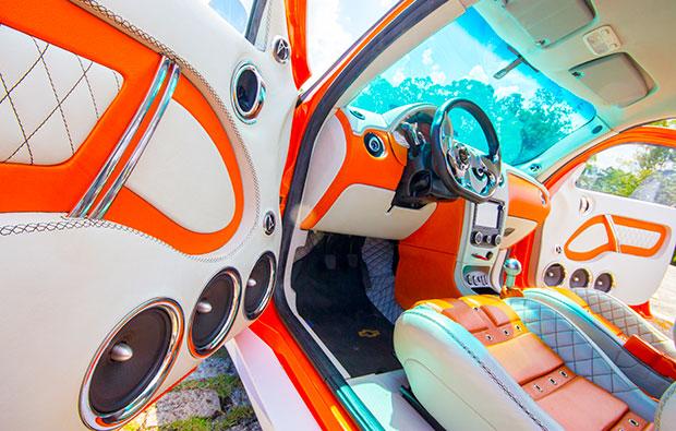 Show car da Roadstar interior
