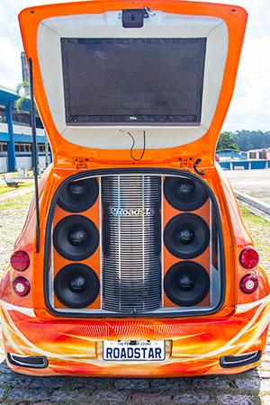 Show car (carro show) da Roadstar
