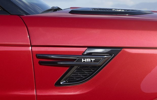 detalhe externo da Range Rover Sport HST