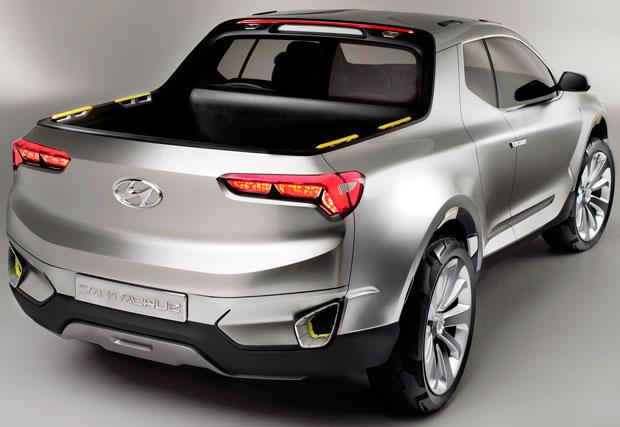 Hyundai Santa Cruz concept pick-up