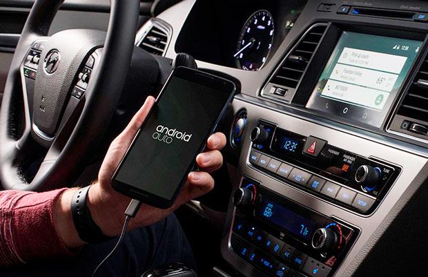 Android Auto no Hyundai Sonata