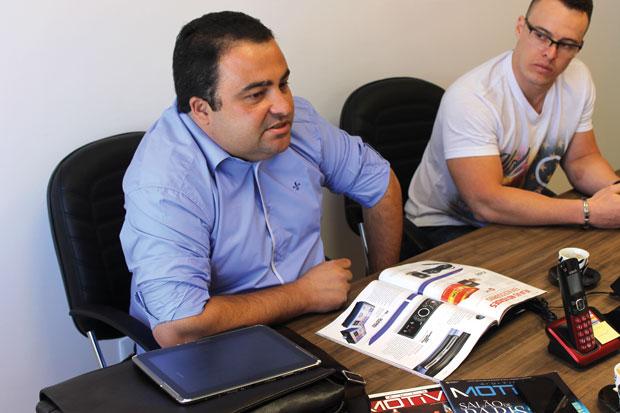Eduardo José Queiros, diretor da Edusom distribuidora de som e acessórios automotivos