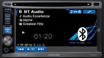 central multimidia automativa marca alpine - som automotivo