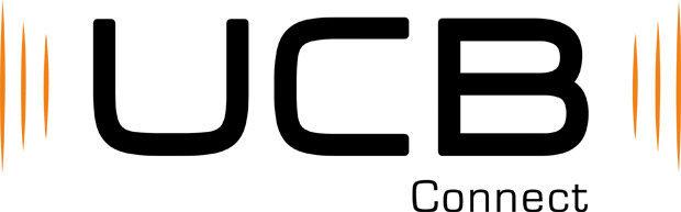 logo UCB Connect, marca de som automotivo do grupo Unicoba