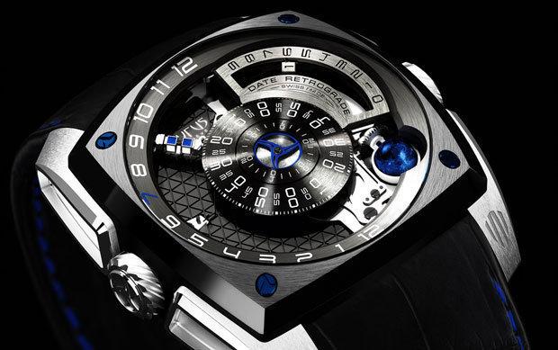 relógio Cyrus Klepcys dado a quem compra o Likan Hyperspot, do filme Velozes e Furiosos 7