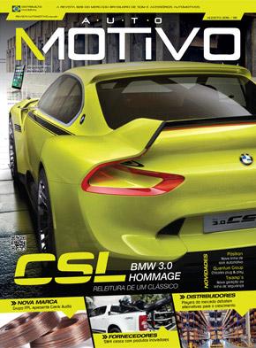 Capa da revista AutoMOTIVO - Edição 95 - Agosto de 2015