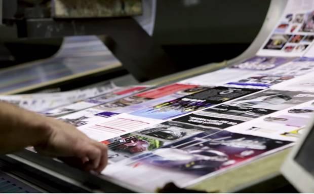 Bastidores da produção da revista AutoMOTIVO, especializada em som e acessórios automotivos