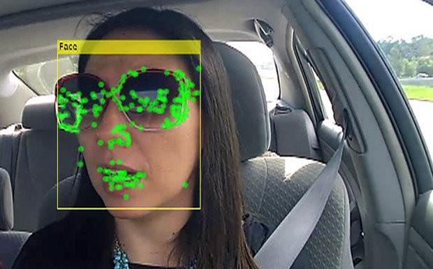 monitoramento facial do motorista