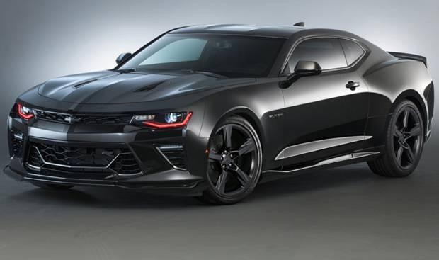 2015-SEMA-Chevrolet-Camaro-Black