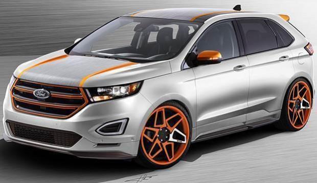 Ford Edge Vaccar SEMA Show 2015