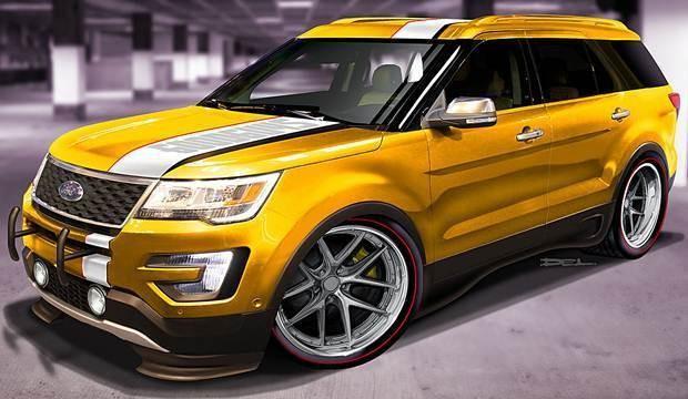 Ford Explorer Good Guys SEMA Show 2015