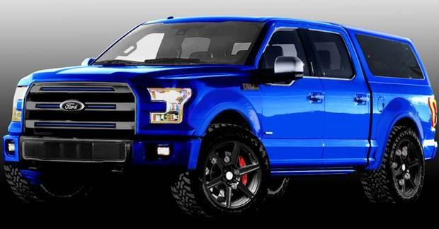 Ford F-150 R1 Leer SEMA Show 2015