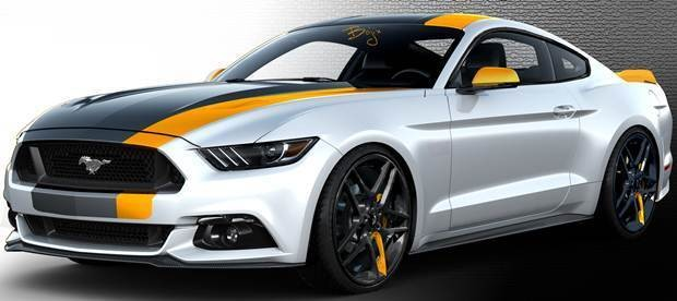 Ford Mustang Bojix SEMA Show 2015