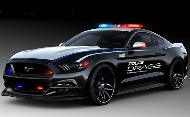 Ford Mustang DRAGG - SEMA SHOW 2015